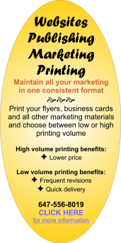 Publishing Websites Marketing Printing